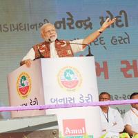 Gujarat: PM Modi addresses rally, inaugurates public projects