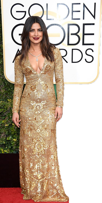 Priyanka Chopra rocks the red carpet at the Golden Globes