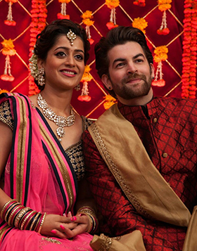 In Roca Ceremony Neil Nitin Mukesh chose the most traditional dress