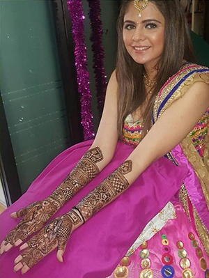 Mahendi Night of Rucha