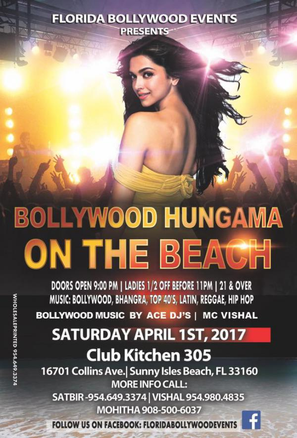 Bollywood Hungama on the Beach