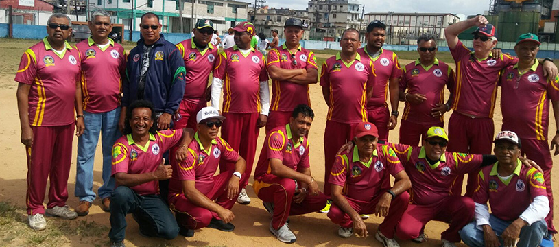 Members of Miramar Masters Cricket Club