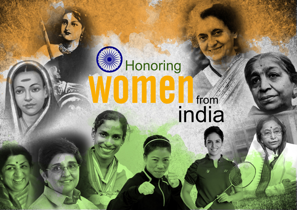 Honoring Women from India