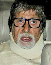 Amitabh Bachchan suffering from badly injured neck