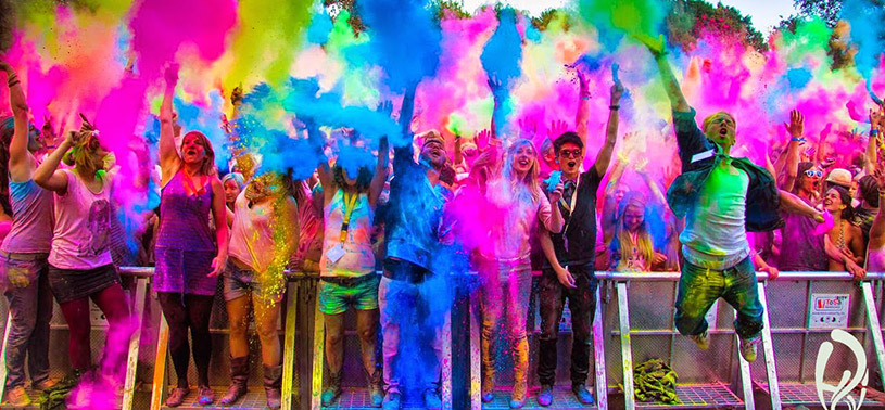 Holi is also celebrated with great pomp and show in Trinidad and Guyana given the large Indian population on the twin islands