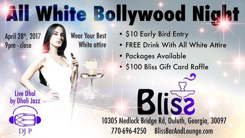 All White Bollywood Night
