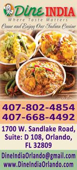 Dine India Orlando