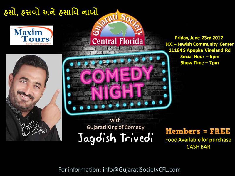 Comedy Night with Jagdish Trivedi