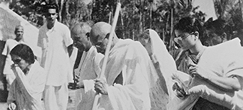 Gandhi's Gift was filmed on location in India, South Africa and the UK at all of the important sites in Gandhi's life
