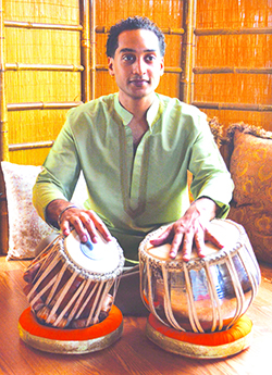 Rajesh Bhandari first discovered the lyrical beauty of Indian classical music at a young age on a trip to Delhi, India.