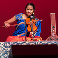 Violin Player Sanjana Chandran