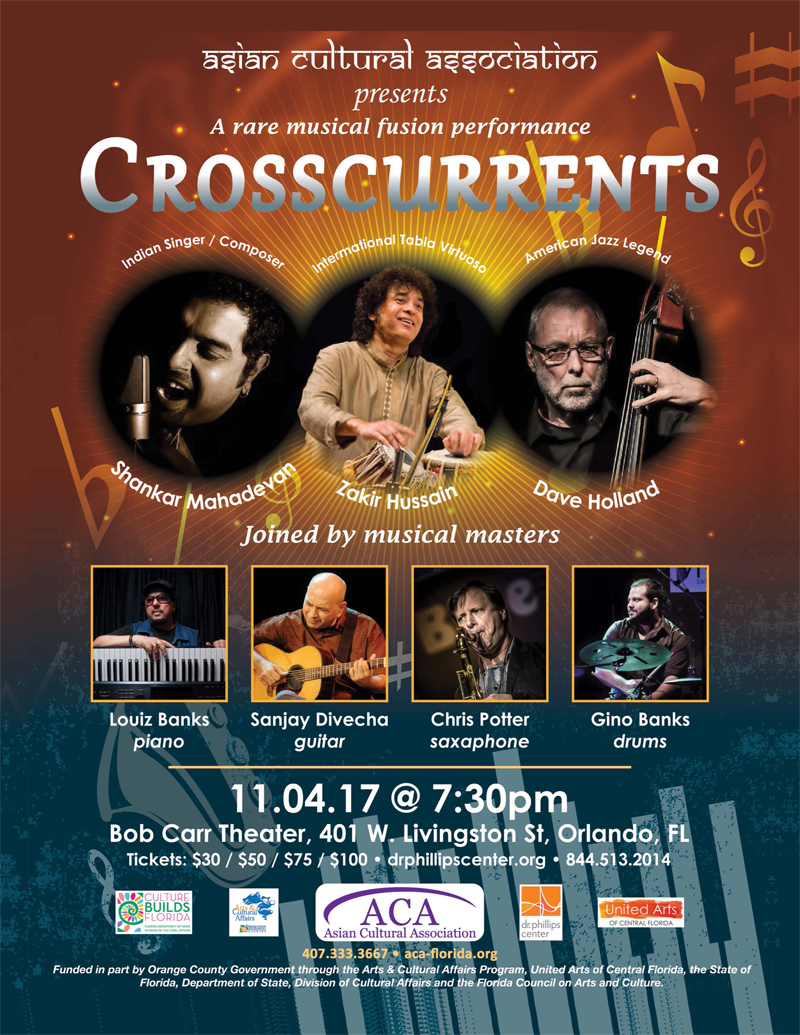A Rare Musical Fusion Performance Crosscurrents