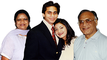 Jayant C. Shah & His Family