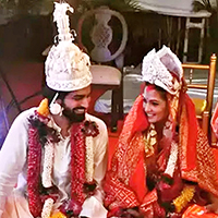 Riya Sen Weds Longtime Beau Shvam Tiwari