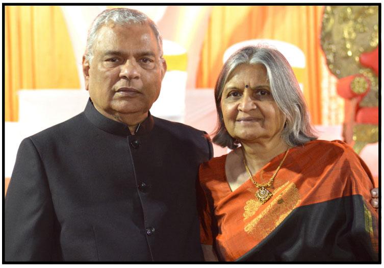 Aruna and Raj Shah
