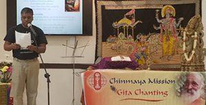 The judges were Swamini Akhilananda (CM Miami Āchārya), Bhooma Sailappan, and Deepti Sailappan