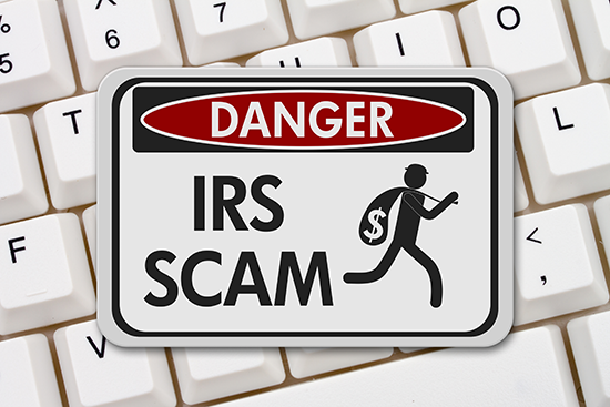 Internal Revenue Service (IRS) scammers