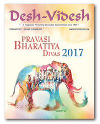 2018 marks 25 years that Desh-Videsh has been in print