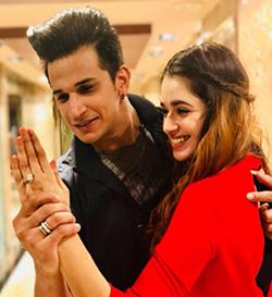 Prince Narula & Yuvika Chaudhary Engaged