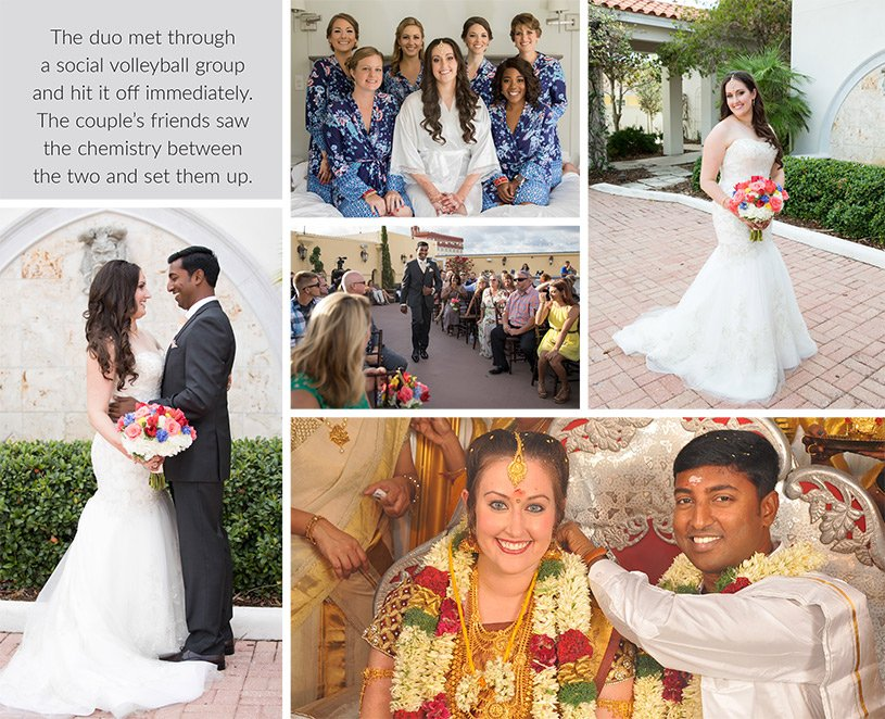 Wedding and Reception Ceremony of Jessica and Vinoth