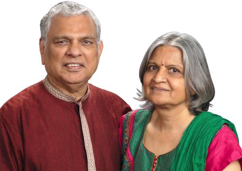 Raj Shah & Aruna Shah