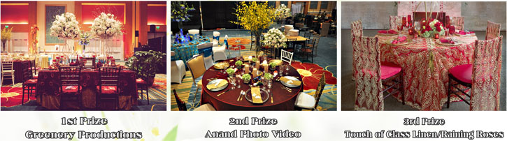 My Shadi Bridal Expo - Reception Table Competition