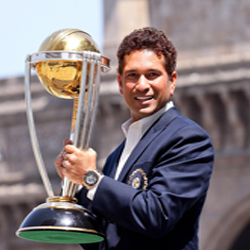 Tendulkar showed the highest level of fineness and brilliance, while most of his teammates displayed a contrast. Starting India's World Cup campaign, Tendulkar scored two centuries in the early matches.