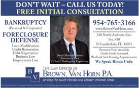 BROWN VAN HORN P.A.