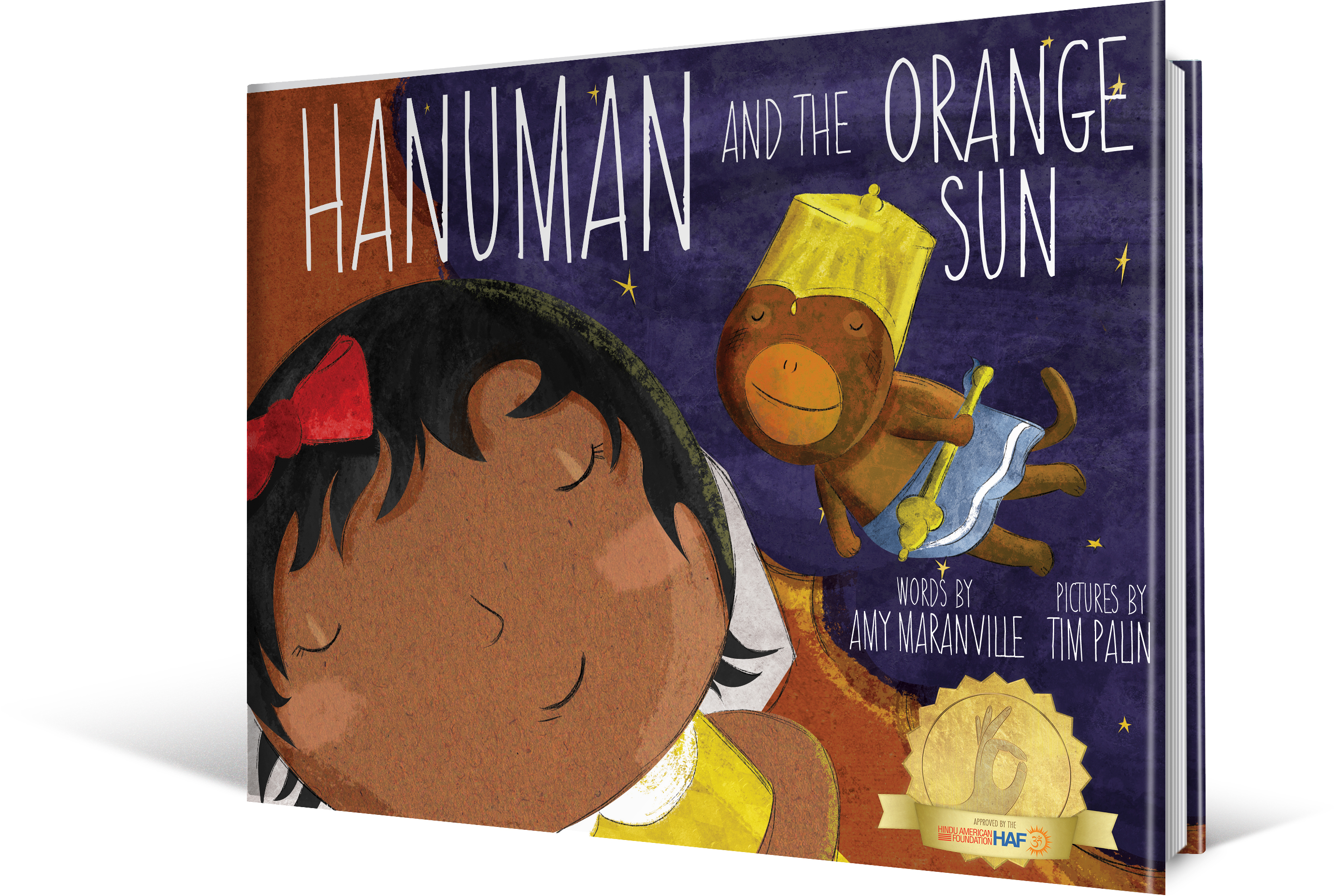Hanuman and The Orange Sun