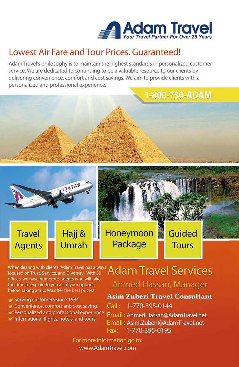 Adam Travel Services-GA