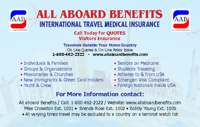 All Aboard Benefits