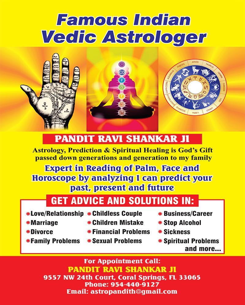 Astrologer Ravi Shanker