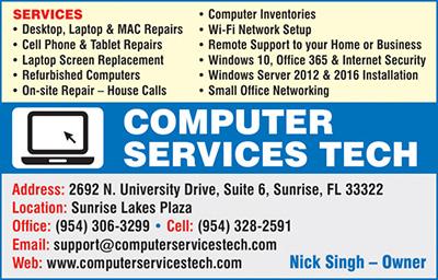 Computer Services Tech