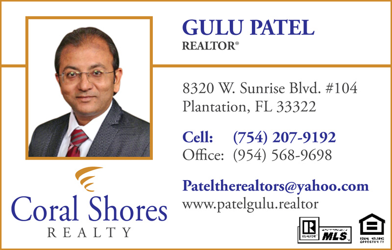 Coral Shores Realty-Gulu Patel