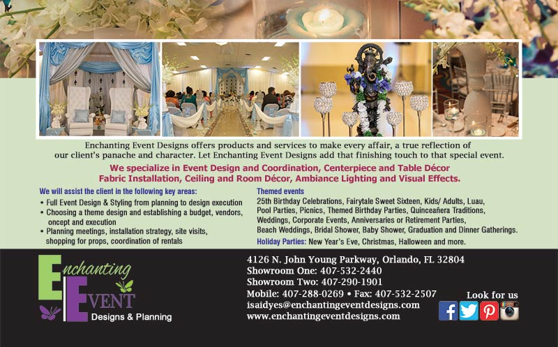 Enchanting Event Designs & Planning