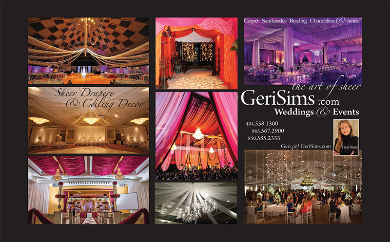 GERI SIMS PRODUCTIONS - WEDDING SERVICES