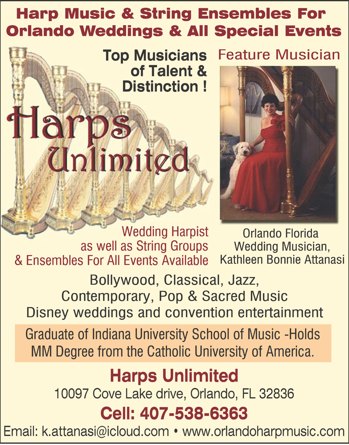 Harps Unlimited