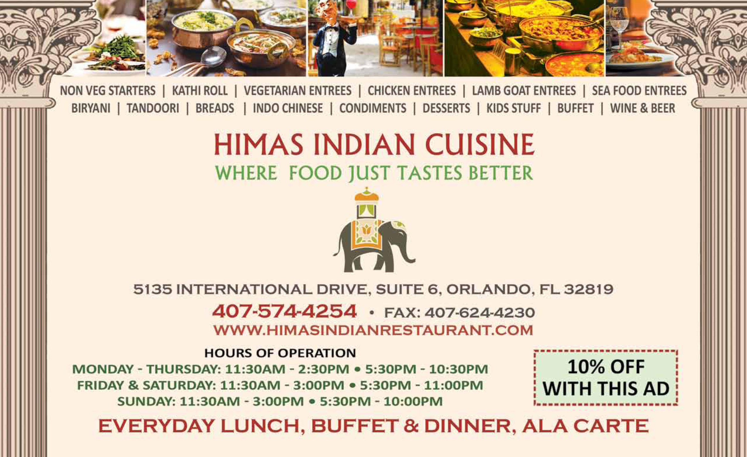 Himas indian cuisine