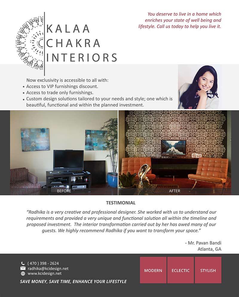 Kalaa Chakra Interiors LLC