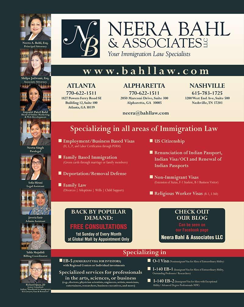 Neera Bahl And Associates LLC