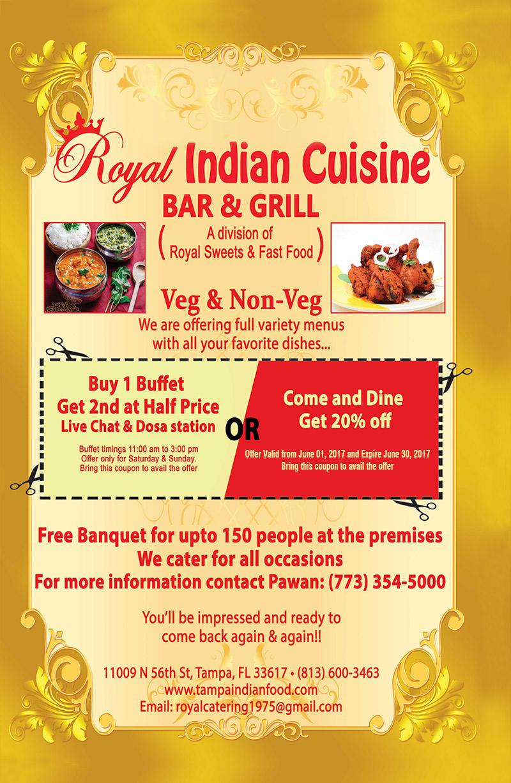 Royal Indian Bar & Grill