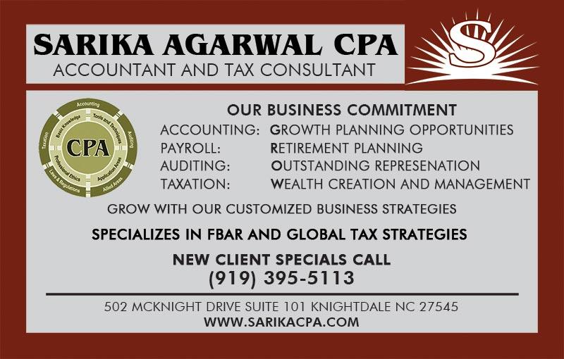 Sarika Agarwal CPA