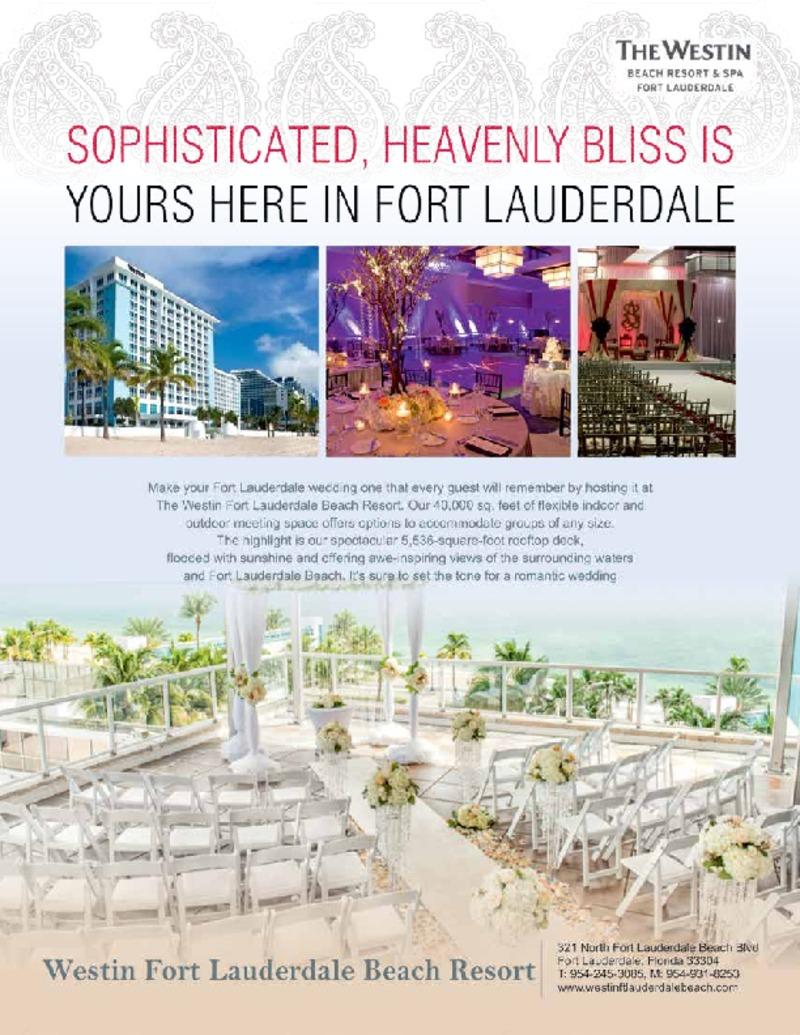 Westin Fort Lauderdale Beach Resort Wedding