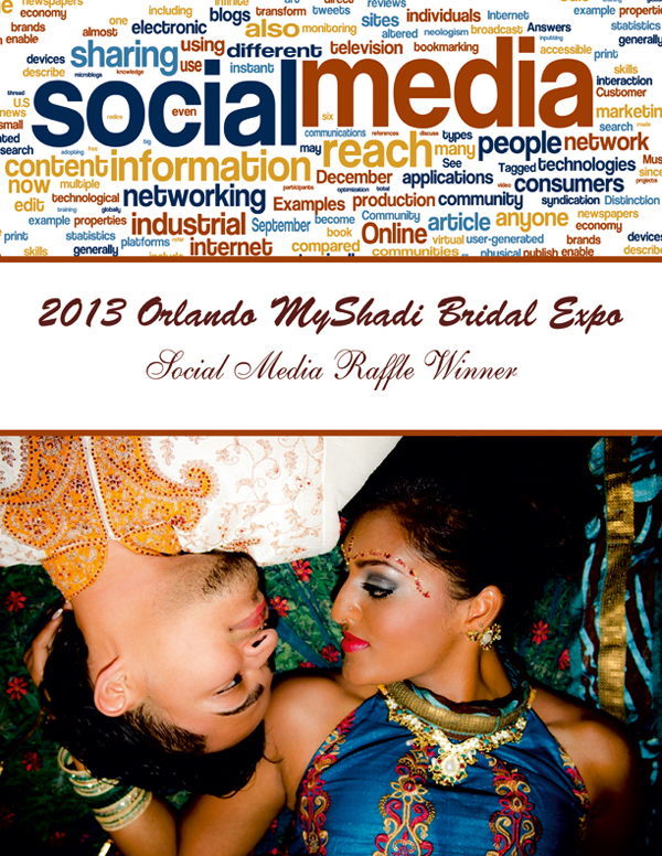 2013 Orlando MyShadi Bridal Expo Social Media Raffle Winner