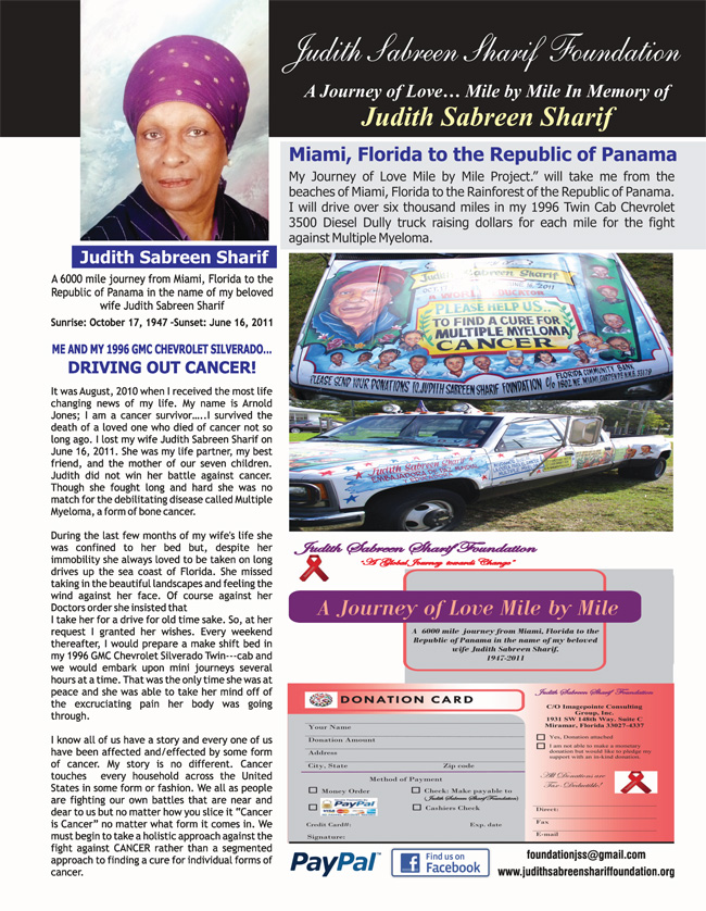 Judith Sabreen Sharif Foundation Inc