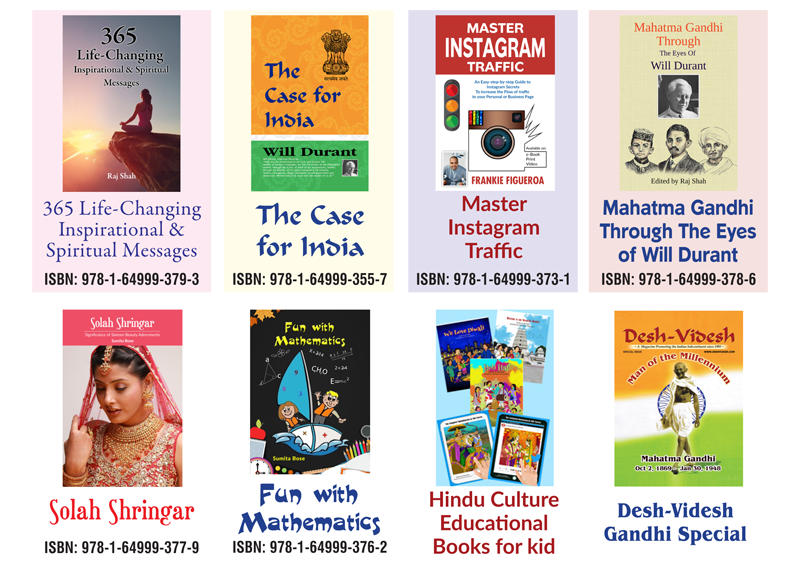 BOOKS PUBLISHED BY DESH-VIDESH MEDIA GROUP