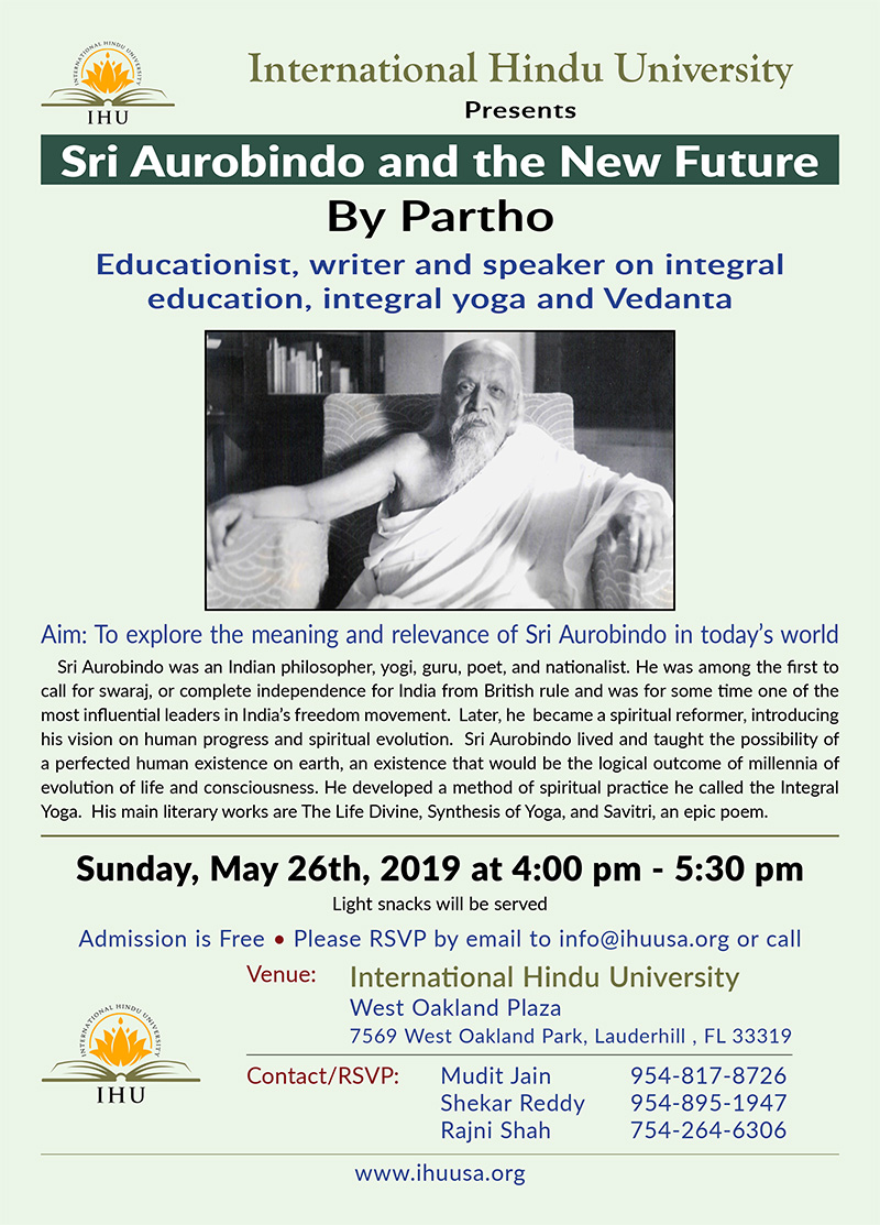 Sri Aurobindo and the New Future – By Partho