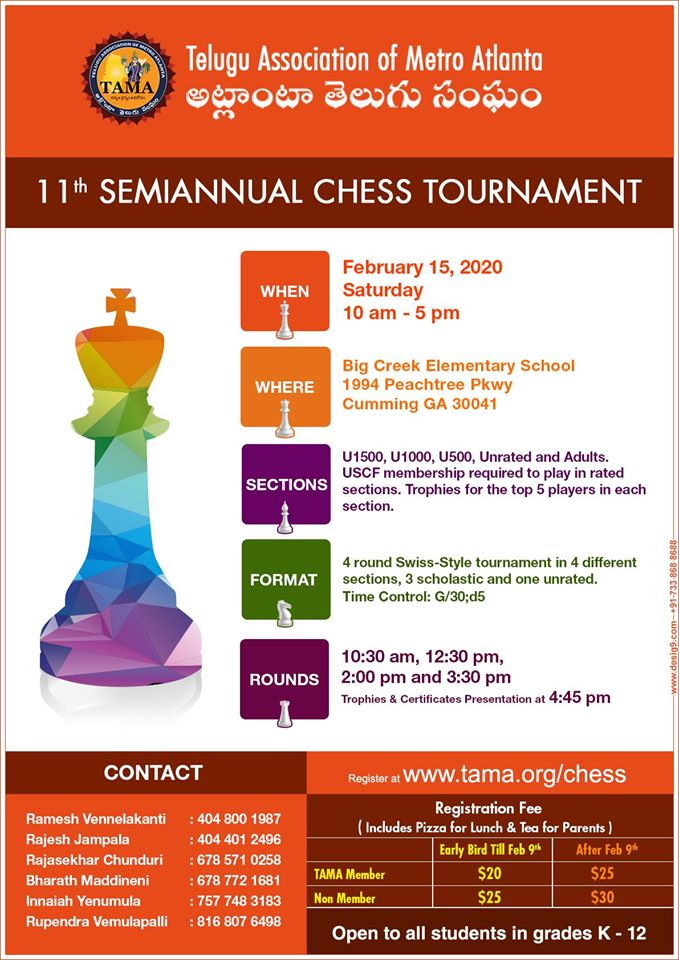11th Semiannual Chess Tournament in Cumming