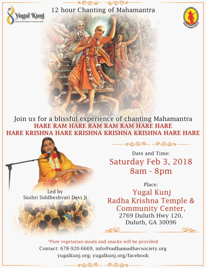 Chanting of Mahamantra