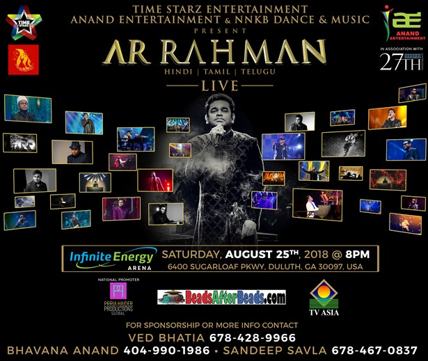 AR Rahman Live Concert in Atlanta